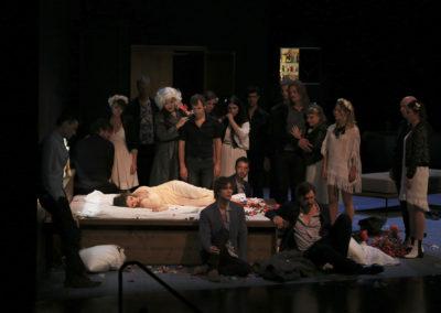 L'Orfeo ©Gilles Abegg Opéra de Lyon
